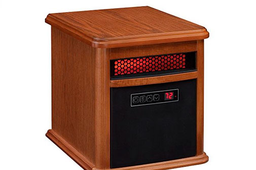 Duraflame 9HM9126 O142 Portable Electric Infrared Quartz Heater